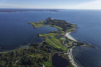 Fishers Island Aerial