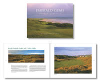 Emerald Gems: The Links of Ireland, Coffee table book, hardcover